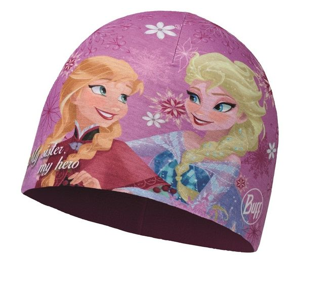 Buff Child Microfiber & Polar Hat Frozen - sisters pink - mardi grape