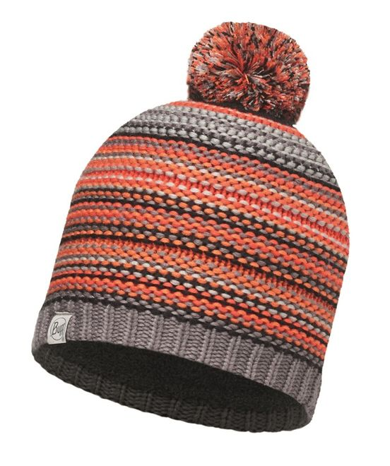 Buff Junior Knitted & Polar Hat Amity - grey castlerock - grey vigoré