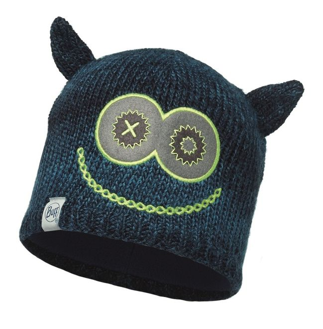 Buff Child Knitted & Polar Hat Monster - jolly dark navy - navy