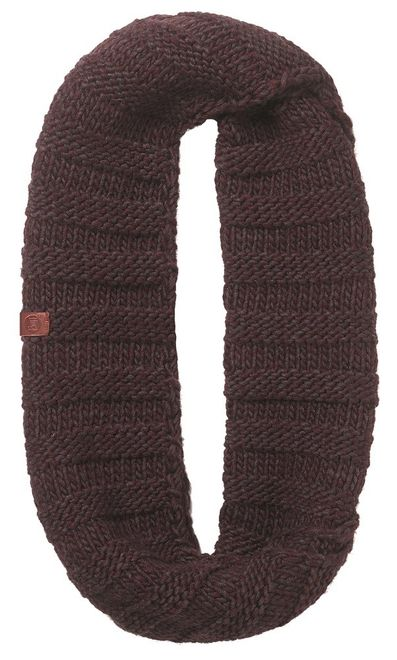 Buff Knitted Infinity Dean - wine