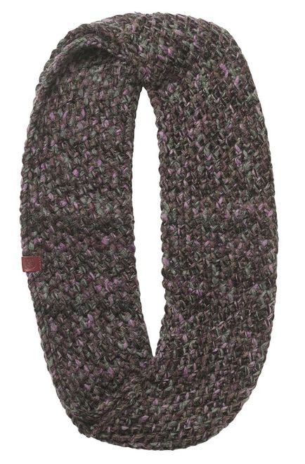 Buff Knitted Infinity Margo - plum