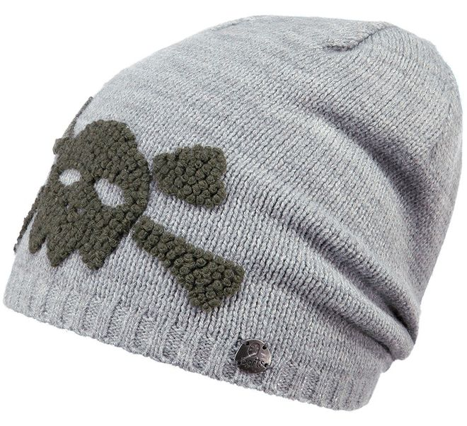 Barts Baddy Beanie Kindermütze - heather grey