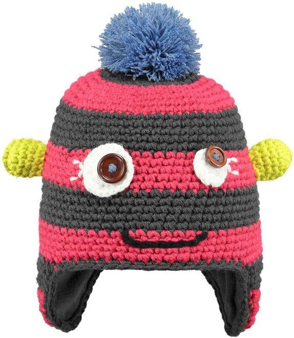 Barts Monster Beanie Kindermütze - fuchsia