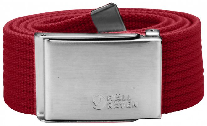 Fjällräven Canvas Belt - Deep Red