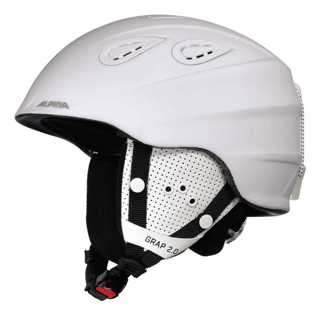 Alpina Grap 2.0 Skihelm - white matt