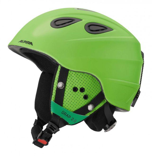 Alpina Grap 2.0 Skihelm - green matt