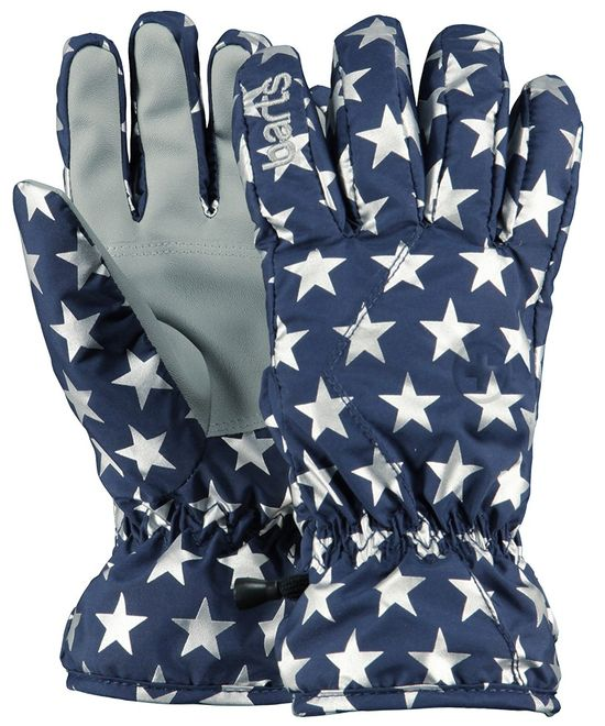 Barts Basic Skigloves Kids - blue stars