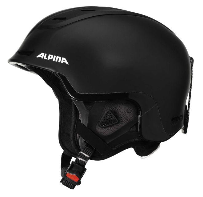Alpina Spine Skihelm - black matt