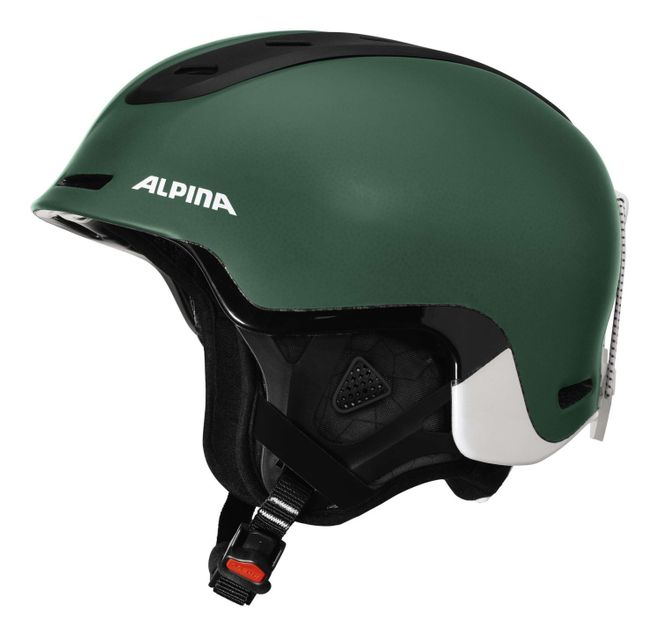 Alpina Spine Skihelm - pine green matt