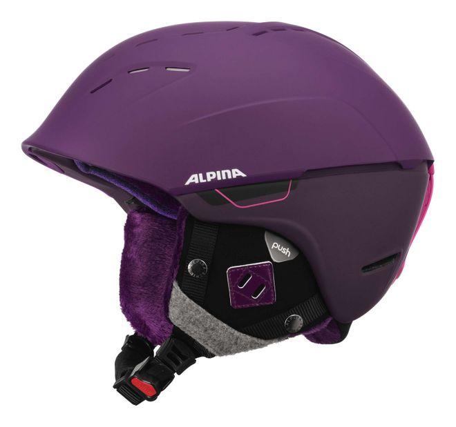 Alpina Spice Skihelm - deep violet matt