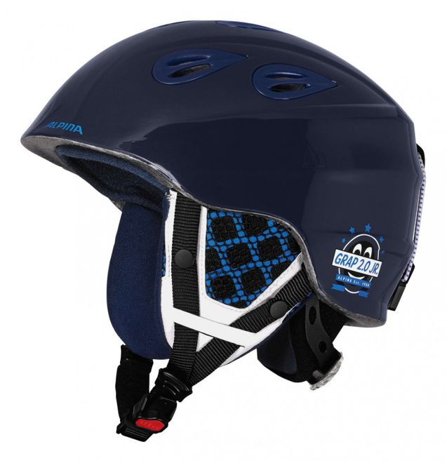 Alpina Grap 2.0 Junior Jugend-Skihelm - blue navy