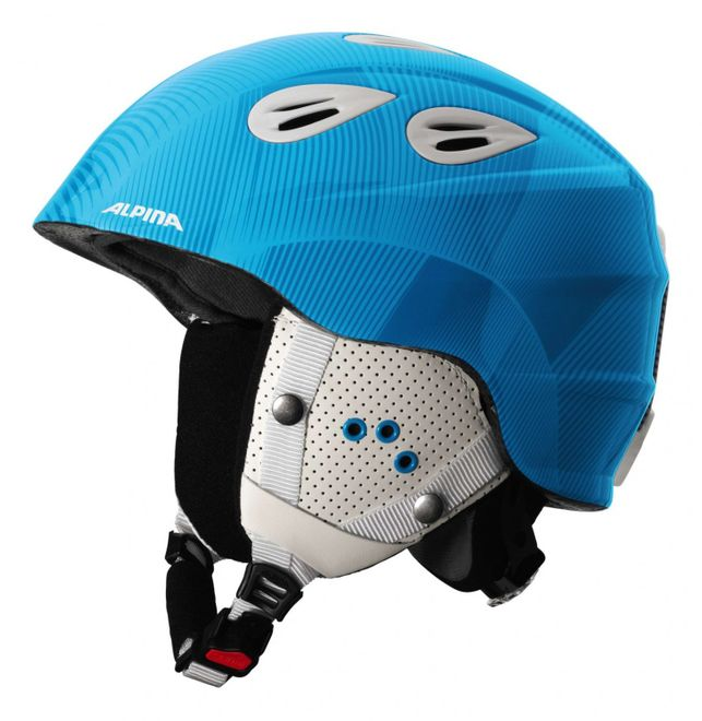 Alpina Grap 2.0 Junior Jugend-Skihelm - blue white