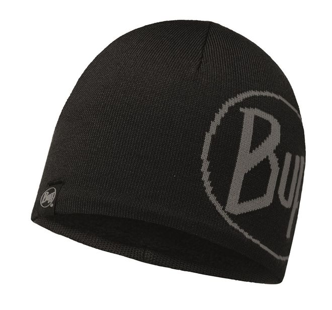 Buff Tech Knitted Hat Windstopper Tech Logo - black- black