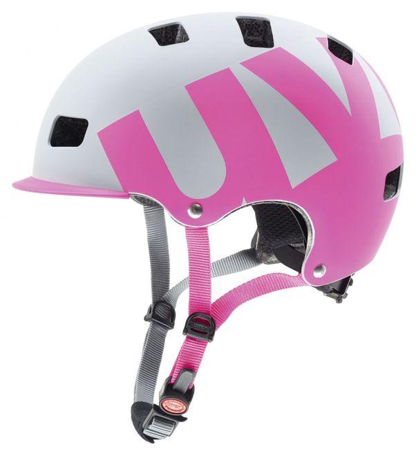 Uvex Hlmt 5 Bike Pro Fahrradhelm - gray pink mat