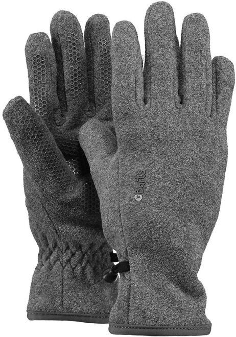 Barts Fleece Gloves Kids - heather grey