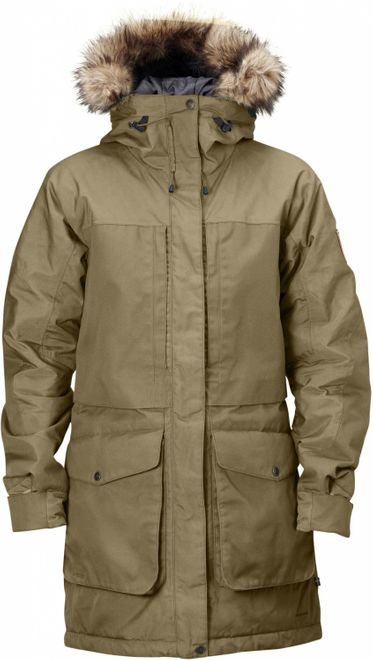 Fjällräven Barents Damen Winter Parka - Sand