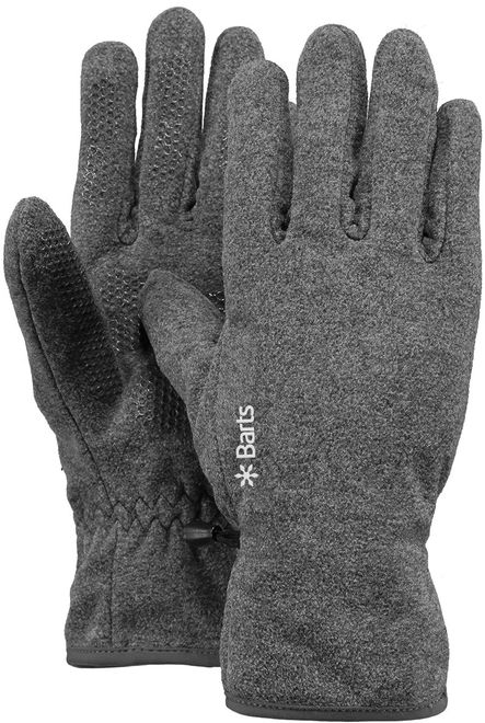 Barts Fleece Gloves - heather grey