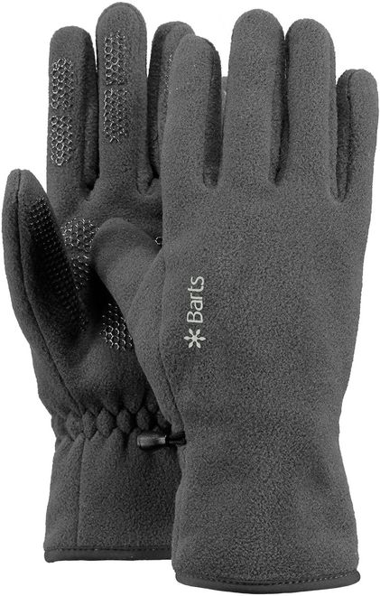 Barts Fleece Gloves - anthracite