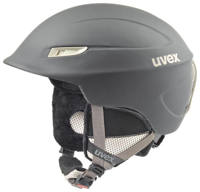 Uvex Gamma WL Damen-Skihelm - black-prosecco mat
