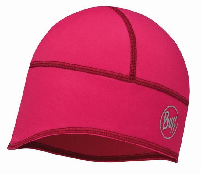 Buff Tech Fleece Hat - solid pink cerisse
