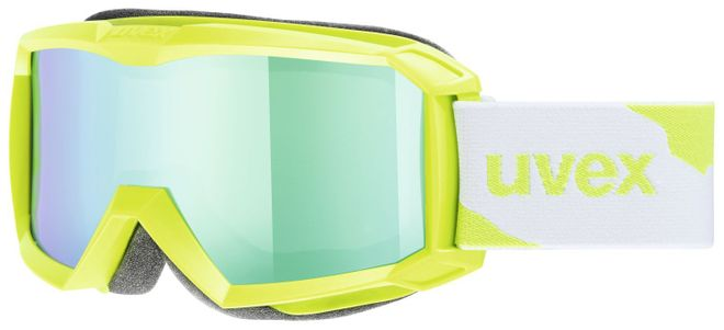 Uvex Flizz LM Junior Skibrille - applegreen mat