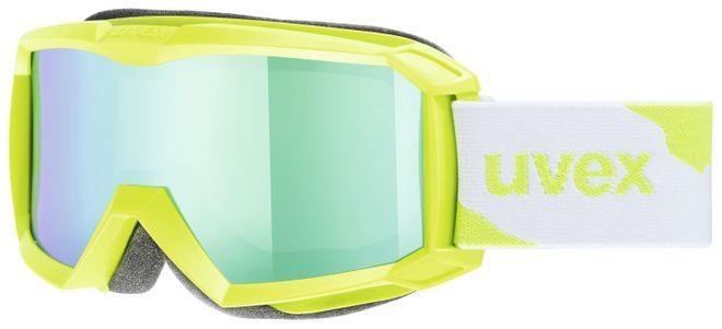 Uvex Flizz LM Junior Skibrille - applegreen mat