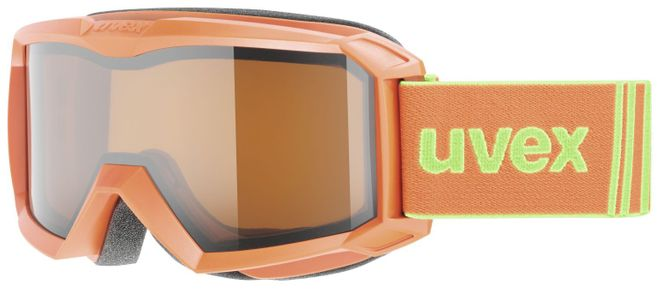 Uvex Flizz LG Junior Skibrille - orange mat