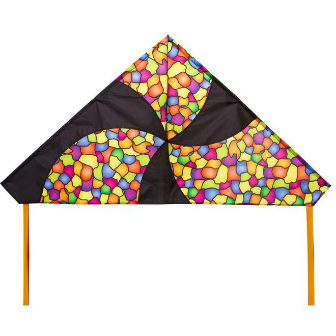 HQ Delta Dazzling Colors Single Line Kite
