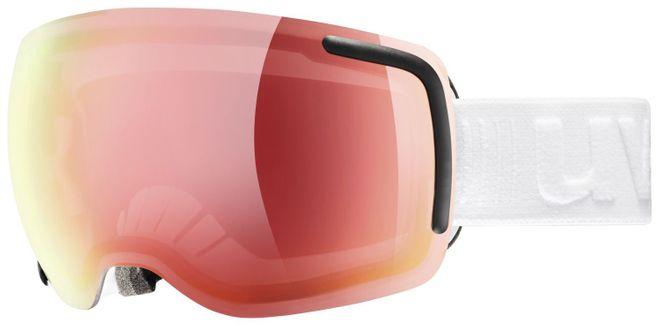 Uvex Big 40 VFM Skibrille - white mat