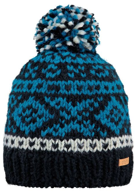 Barts Log Cabin Beanie Kids - black