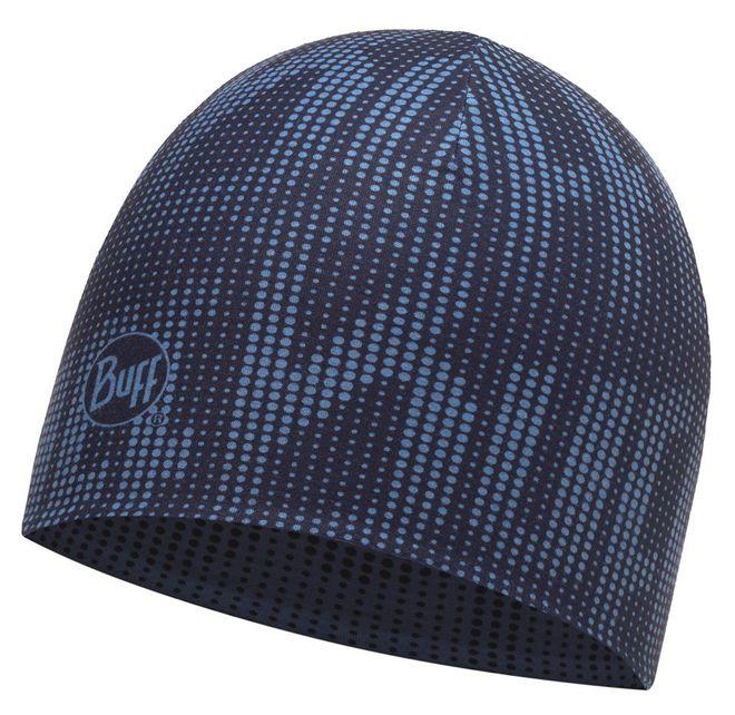 Buff Coolmax Reversible Hat Reflective - deep logo dark navy - blue – Bild 1