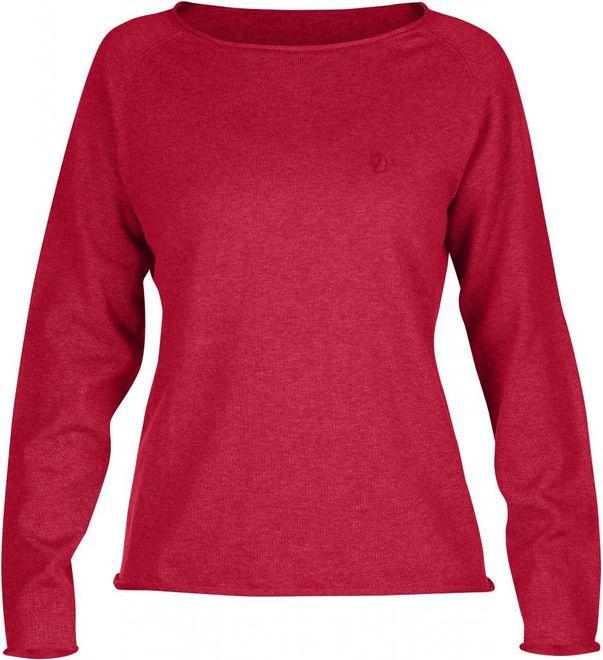 Fjällräven Övik Sweater Damen - Coral