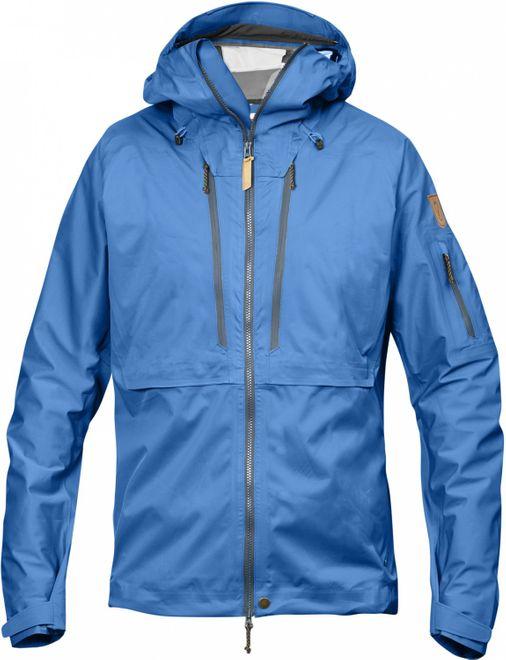 Fjällräven Keb Eco-Shell Jacket Trekking Herren Jacke - UN Blue – Bild 1
