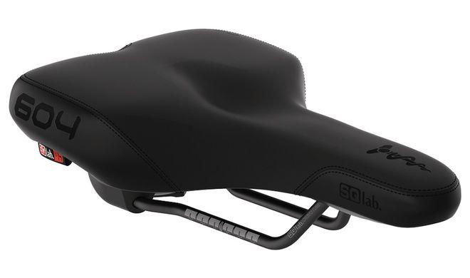 SQlab Trekking Fahrradsattel Mod. 604 Active Unisex S 14cm