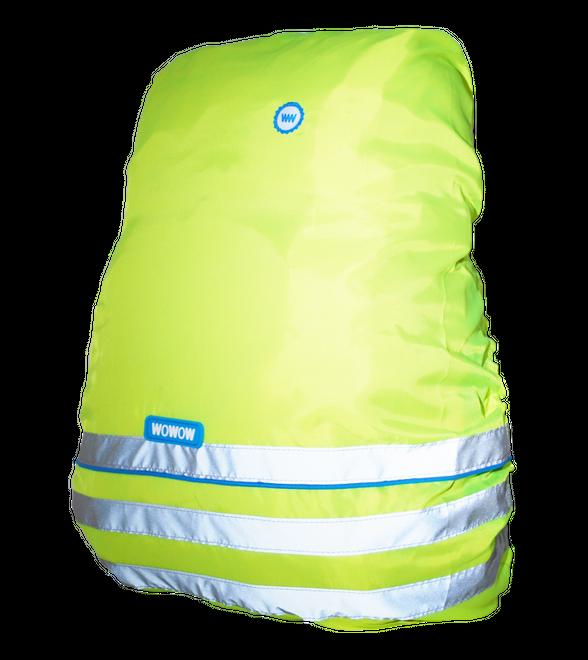 Wowow Rucksacküberzug Fun Line Bag Cover - gelb bis 45 l