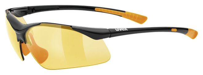 Uvex Sportstyle 223 Sportbrille - black orange