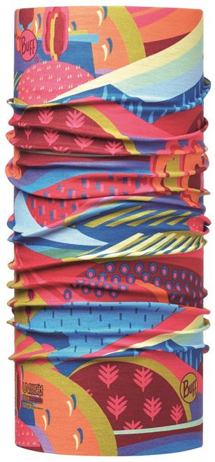 Buff Junior Original Schlauchtuch High UV Protection - colourful mountains multi