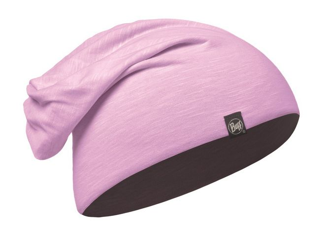 Buff Cotton Hat - solid rose