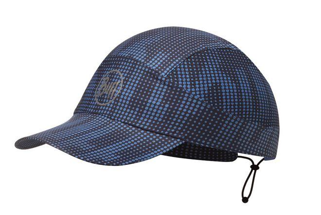 Buff Pack Run Cap Reflective - deep logo dark navy