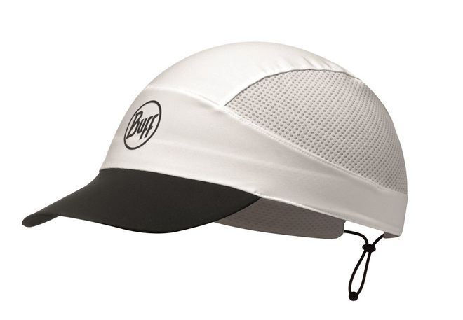 Buff Pack Run Cap Reflective - solid white