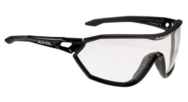 Alpina S-Way VL+ Sportbrille, black matt
