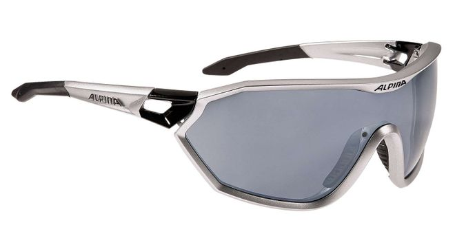 Alpina S-Way CM Sportbrille, silver matt-black