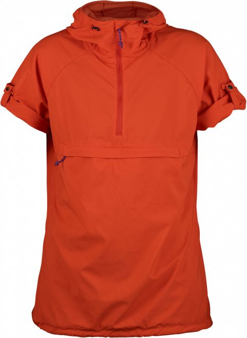 Fjällräven High Coast Hooded Shirt Damen - Flame Orange