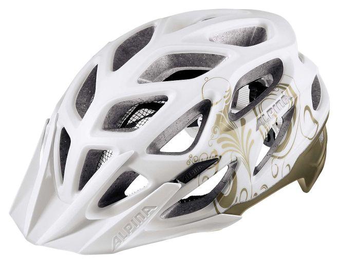 Alpina Mythos 3.0 L.E. Fahrrad Helm - white prosecco