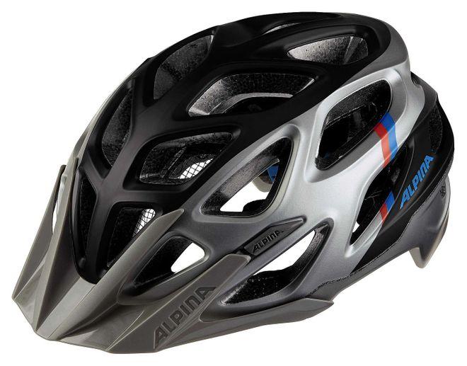 Alpina Mythos 3.0 L.E. Fahrrad Helm - darksilver blue red