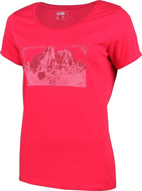 High Colorado GARDA Damen T-Shirt - himbeere