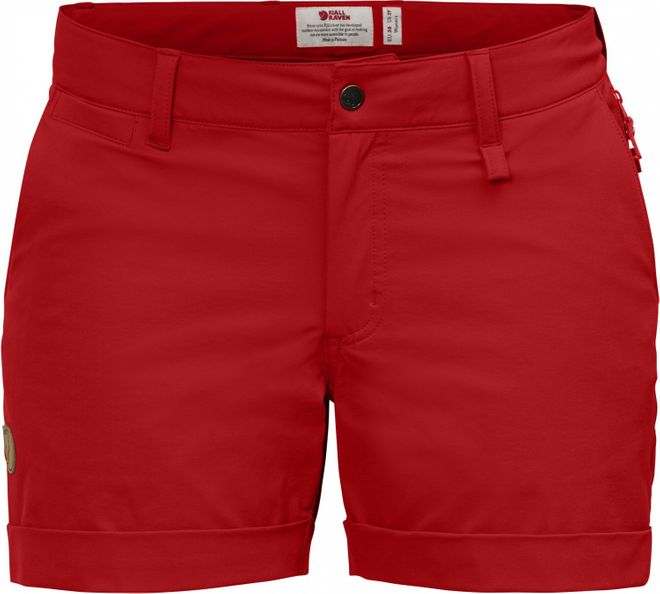 Fjällräven Abisko Stretch Shorts Damen - Red