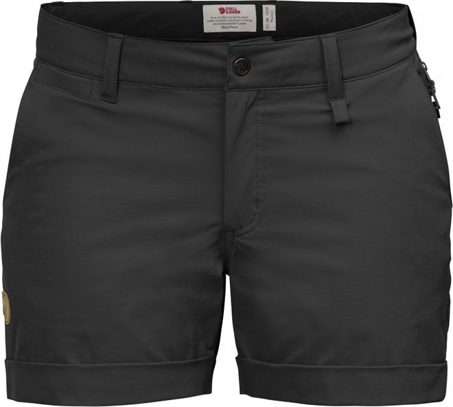 Fjällräven Abisko Stretch Shorts Damen - Black