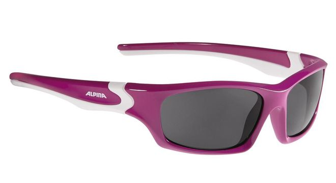 Alpina Flexxy Teen Junior Sonnenbrille - berry white