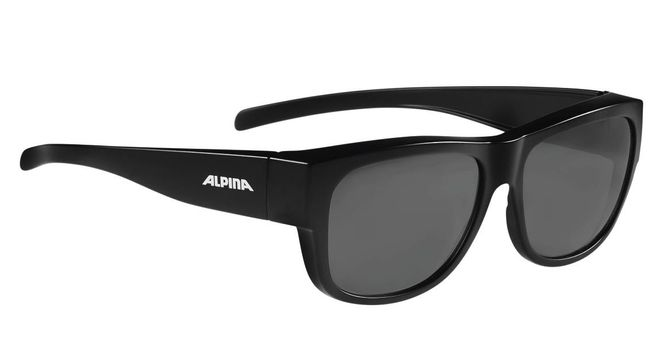 Alpina Sonnenbrille Overview II P - black matt